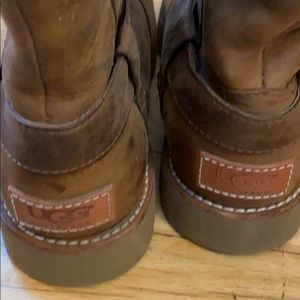 Real leather uggs
